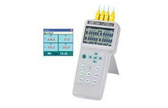 TES-1384四通道溫度計/記錄器