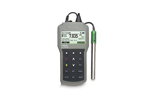 意大利哈纳HI98191便携式PH酸度、ORP氧化还原、ISE离子浓度、温度测定仪