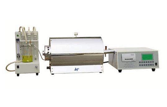 WDL-100C型微机快速测硫仪