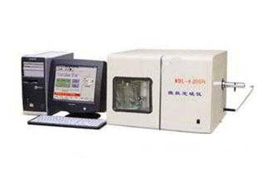 WDL-9000A型微机定硫仪