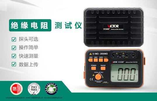 VC60B+ 绝缘电阻测试仪