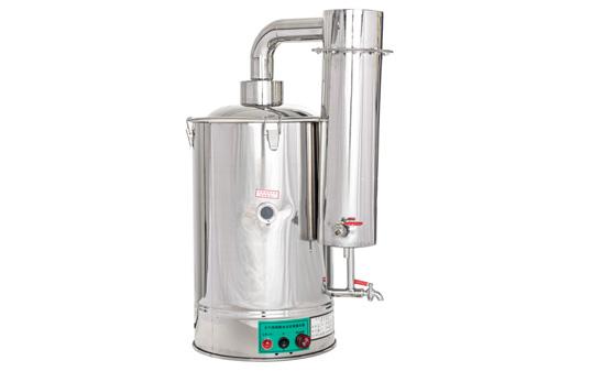 YAZDL-3/5/10/20型不锈钢电热蒸馏水器自控款