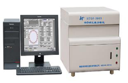 HTGF-3000型全自动工业分析仪