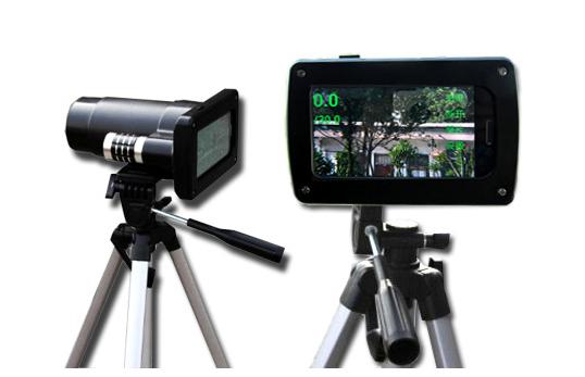HV300多功能手持高清测速仪