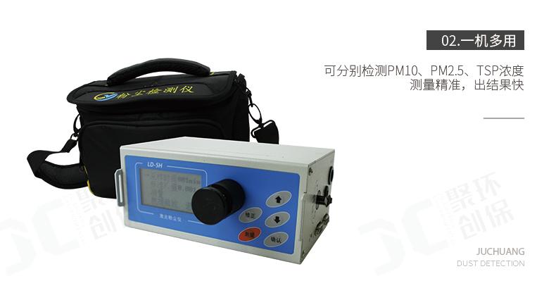 聚創環保微電腦粉塵檢測儀